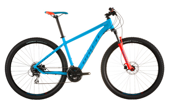 Roys Bike Shop rent Ghost MTB Hardtail Mountain Bikes and Trail bikes