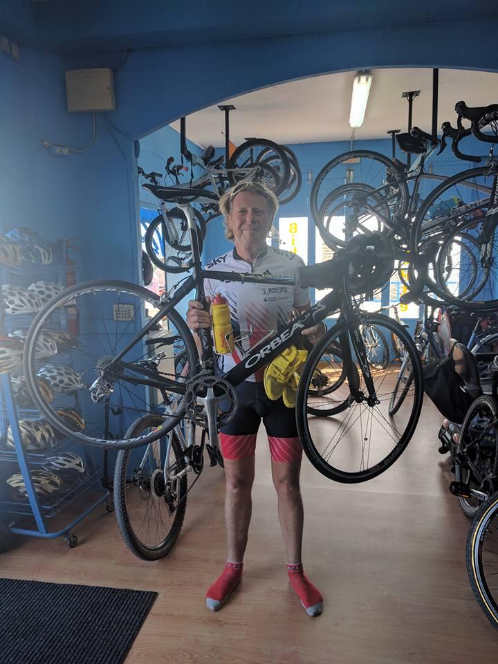 Cyclist - Orbea