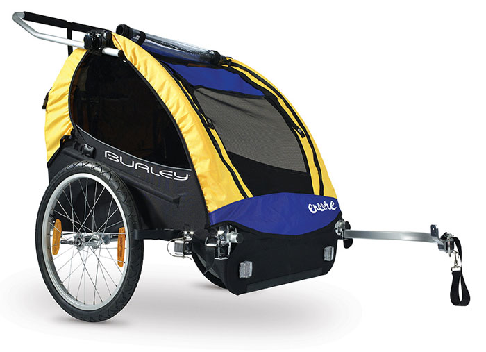 Bike trailer for kids and pets