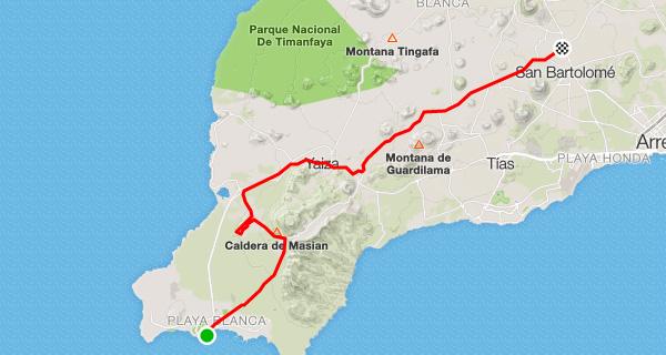 Playa Blanca - Las Brenas - Yaiza - Uga - La Geria - Monumento & Museo del Campesino