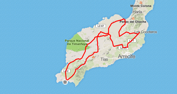 South Lanzarote & Mid-Island Tour